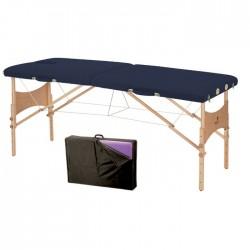 Table de massage pliante 2 plans en bois