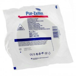 Rouleau 500 tampons 40x50 d'ouate de cellulose Pur-Zellin
