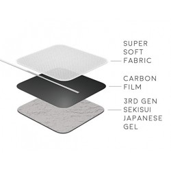 4 électrodes carrées 5x5cm