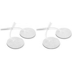 4 électrodes circulaires 32mm, jack 2mm, à gel japonais
