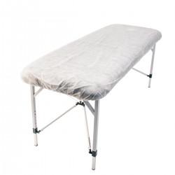 Draps ajustables en polypropylène pour tables