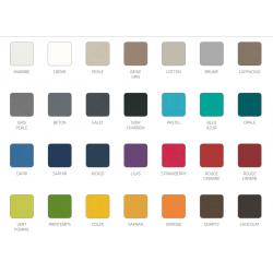 Coloris gamme KARAT
