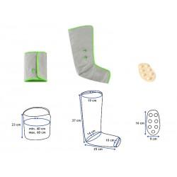 Dispositif complet de pressothérapie à usage domestique